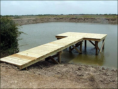 Pier construction company in Texas